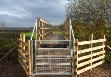 Bison Bridge for Wrexham