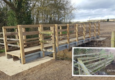 Replacement 8mtr Foot bridge