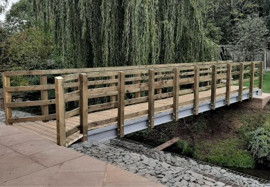 Holme Pierrepont, Nottingham 9mtr Bison Bridge installation